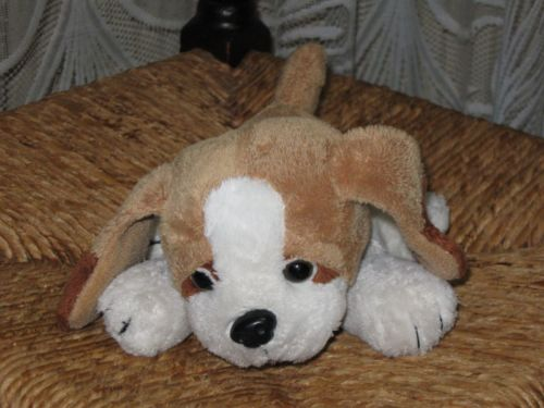 Family Shop Gouda Holland Brown White Puppy Dog 19 CM