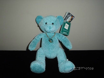 Russ Bears Of The Month December Turquoise Pendant 8 Inch 100038 1988 New WTags
