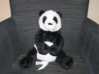 Ikea Sweden Kramig PANDA Bear Baby Safe 13.8 inch New With Tags