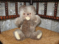 Hermann Germany Old Zotty Bear 2 Toned Working Squeaker