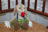 IKEA Klappar Circus Cirkus Clown Dog w Mouse 30cm Stuffed Animal Plush