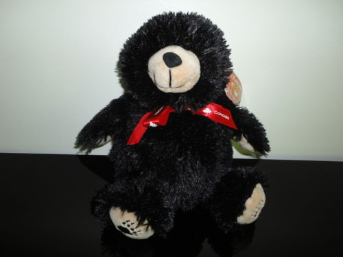Oh Canada! FATTY COLLECTION Chubby Black Bear 11 inch 51004 Handcrafted NEW