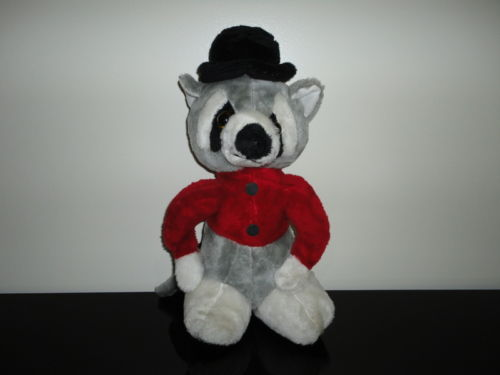 Antique Vintage Best Made Toys Toronto RACCOON Foam Stuffed Plush Toy
