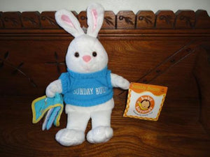 Baby Blessings Sunday Bunny with My Bible from Christian Toys Stuffed Rabbit