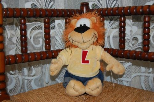 Loeki The Lion Letter L Anna Club Plush With All Tags Dutch Exclusive