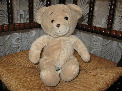 Netherlands Teddy Bear Family Shop Gouda Creme Sitting 24 CM