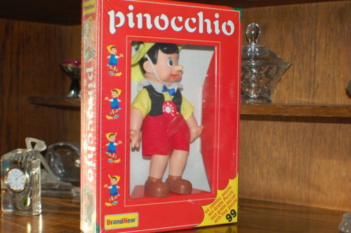 Pinocchio Doll Growing Nose Brand New in Box BV Holland with 99pc Puzzle