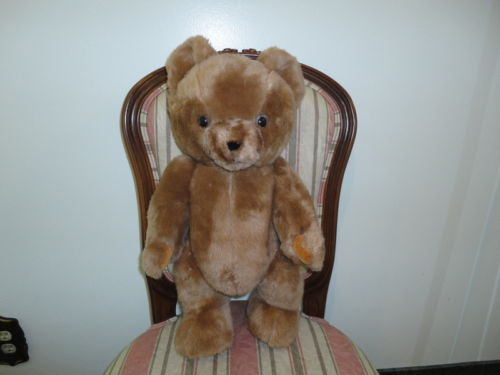 Antique REGAL TOY Large Brown Teddy Bear 20 inch Jointed 1960s Toronto