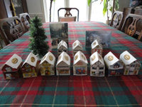 Lindt Lindor Christmas Village 11 Houses Exclusive Set Swiss Chalet Canada