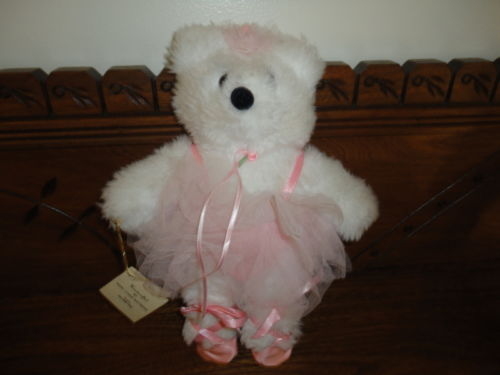 "Artist Ballerina Bear Mary L. Whiteside Handcrafted One of a Kind "" TU TU """