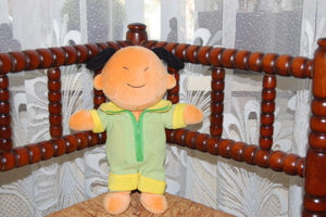 Asian Japanese Boy Cartoon Character Plush Doll Lobbes Toys Holland