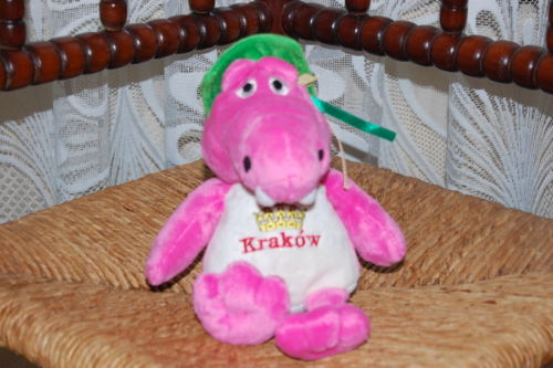 Beppe Krakow Poland Pink Alligator Crocodile Plush
