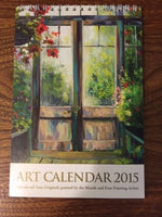 Canadian Art Calendar 2015 Mouth and Foot Painting Artists New