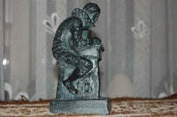 Famous Author & School Teacher Willem Bartjens Zwolle Statue 1569-1638 Rare