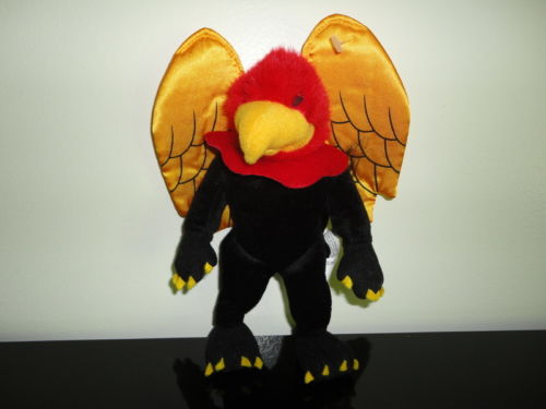 University of Guelph Ontario Canada GRYPHONS Mascot Velvet Bird Collectible
