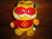 GARFIELD SUPER HERO G Dakin Fun Farm Vintage Stuffed Toy