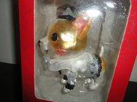 Chihuahua Dog Hand Painted Glass Christmas Ornament New in Box