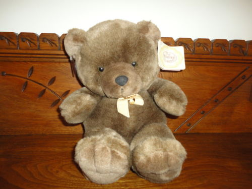 Ganz Heritage BUDDY BEAR Brown Handcrafted 12 in 1989 w Tags