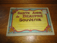 Antique 1930's Sainte Anne de Beaupre Catholic Shrine Quebec Souvenir Booklet
