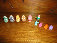 Ferrero Kinder Egg Surprise GNOMES to BEASTS Dwarfs Set of 10 Toys 1990s Retired