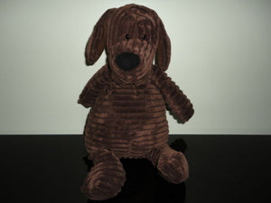 Jellycat London Uk PUPPY HOUND DOG Corduroy Stuffed Toy 15 inch