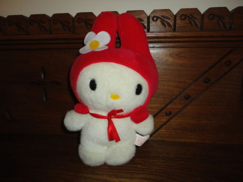 Sanrio 1998 My Melody Doll w Tag 9 inch