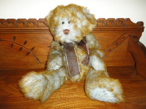 Ganz Bear 2000 Heritage Collection SEBASTIAN Grey/Copper Tip 17 inch New w Tags