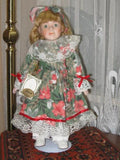 Vintage Alberon Porcelain Lily Doll Classique Collection DAN E9264 Europe 40 CM