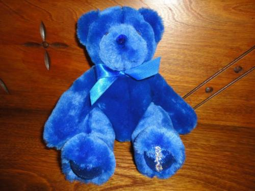 Beverly Hills Birthstone Bear September Blue Sapphire Retired