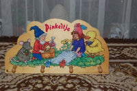 PINKELTJE the GNOME Bambolino Dutch Wood Childs Clothing Rack Dick Laan
