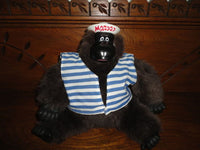 Magogo 1990s Mechanical Dancing Gorilla Ape Sailor Sings Macarena Battery Op