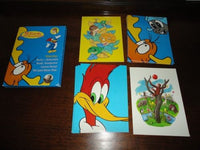 10 Woody Woodpecker Rocky & Bullwinkle Land Before Time Greeting Cards Set