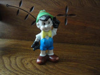 PINOCCHIO Porcelain Figurine Vintage Hand Painted Japan 4.75 inch