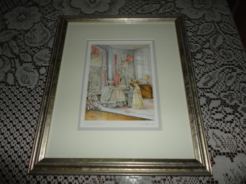 Canadian Artist Shirley Deaville SMALL WONDER Framed Art Print Children Nursery