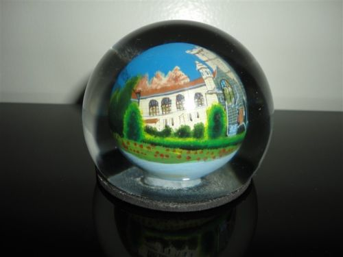 Glass Dome Paperweight ST MATTHIAS PARISH CHURCH Canada 1906-2006 Collectible