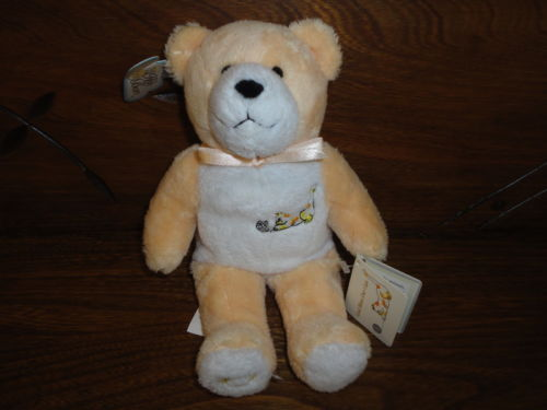"Holy Bears 2003 GOD BLESS OUR CATS Bear 9"" with Bible Booklet"