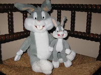 Warner Bros 1999 Play By Play Spain Set of 2 Bugs Bunny Dolls