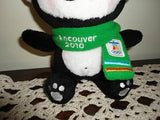 Vancouver Canada Olympics 2010 Official MIGA Stuffed Plush Doll Northern Gifts