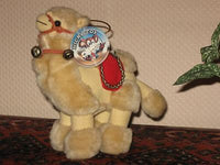 Vintage Nicky Toy Holland Soft Camel Plush