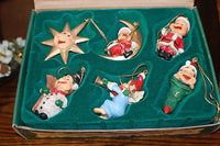 Efteling Holland Gnome Laaf Products Christmas Ornament Set of 6 NIB 4162/853 19