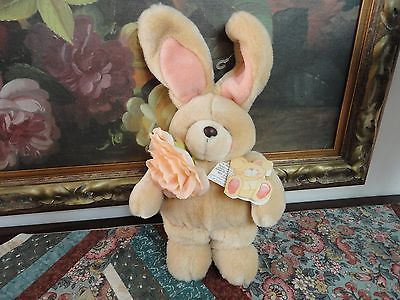 1989 Andrew Brownsword Forever Friends Bunny Bear UK Item 362 with Tags 15 inch