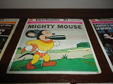 Antique 1958 Terrytoons MIGHTY MOUSE 3 Reels View Master with Case