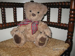 Harrods 2001 Teddy Bear With Harrods On Left Foot & Bow