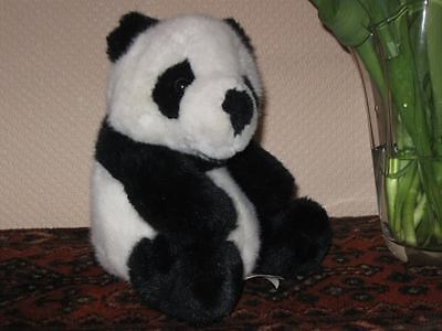 A-One Plush Toys TCC Continuity Holland PANDA Bear 9 Inch Black White Soft Plush