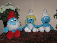 Set of 3 SMURFS Puppy Sa BELGIUM