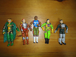 GI Joe Action Figures Mixed Lot 5 Hasbro 3.5 inch Assorted Characters Mixed C