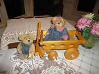 Boyds Bear Lot of 2 Boy And Girl Teddy Bear Retired