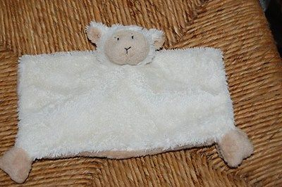 Happy Horse Holland Lamb Plush Baby Security Blanket 8.6 x 8.6 inch