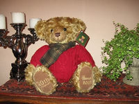 Harrods 2005 Christmas Bear Scottish Nicolas Large 13 inch New All Tags