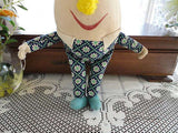 Antique Merrythought Humpty Dumpty Musical Tinkle 1960s